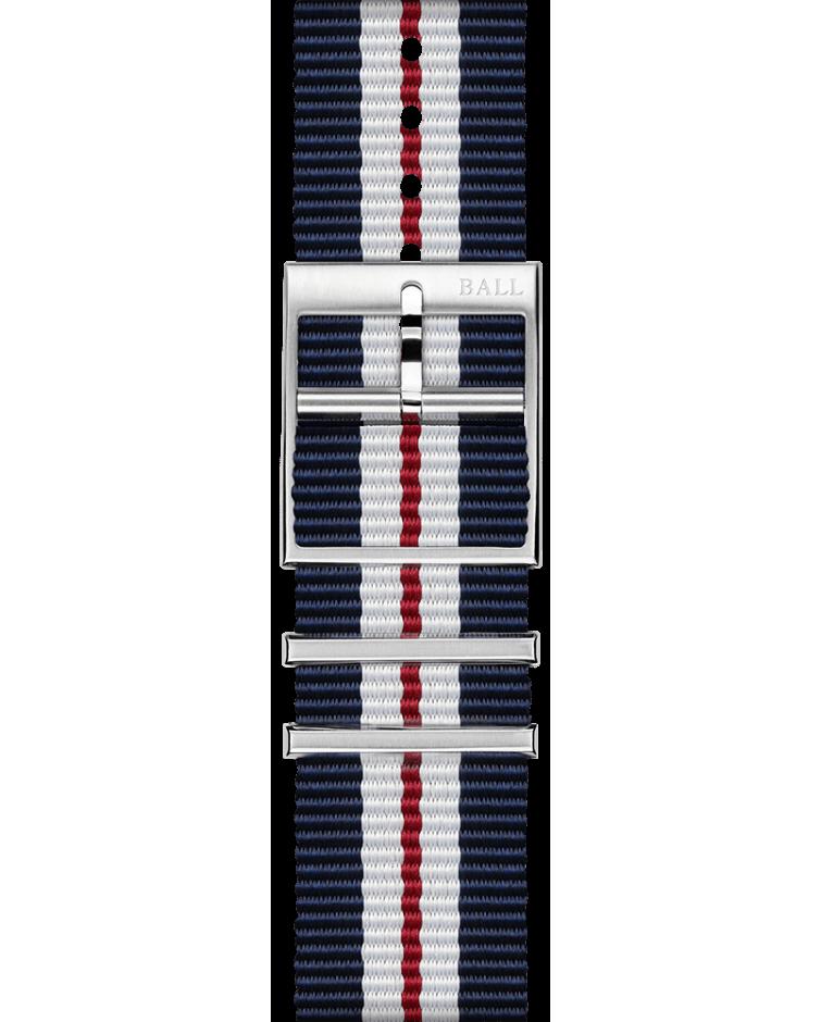 Blue-red-white NATO 21mm