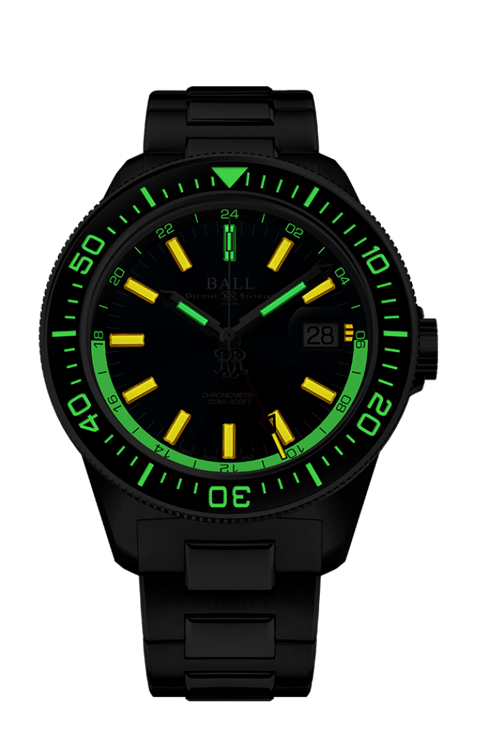 Engineer III Hurricane Hunters (40mm Sapphire Elapsed Time Bezel)