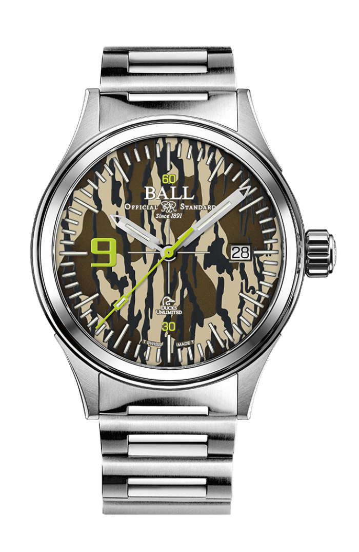Fireman Ducks Unlimited Camouflage with free NATO strap