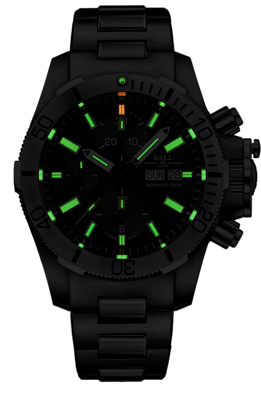 Engineer Hydrocarbon Submarine Warfare Chronograph