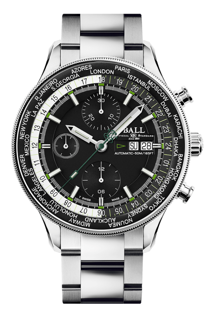 Engineer II Navigator World Time Chronograph